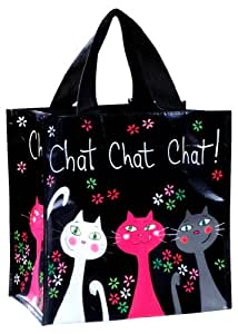 Fox trot 9482CHAT Petit Sac Cabas Courses PVC Chat Chat Chat