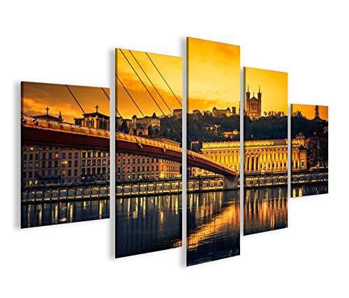 islandburner Impression sur Toile Lyon MF Image sur Toile - Images - Photo - Tableau - Tableaux - déco Murale