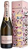 Moet & Chandon Rosé Imperial Emoji Edition mit Geschenkverpackung (1 x 0.75 l)