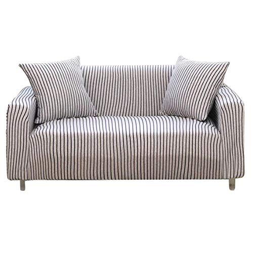 Sqinaa cotone,fodera per divano a righe protettore di animali domestici bambini divano letto cuscino per 1 pezzo morbido divano copre-h