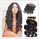 Full Shine (24'24'24'+16' Lace Frontal 13*4zoll) 100% Reale...