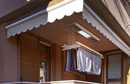 Stendibiancheria da parete e soffitto elettrico foxydry air