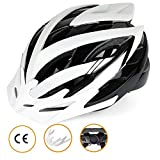 Best Casco de la bici para los hombres - Casco de bicicleta con LED-Light, CE de la Review