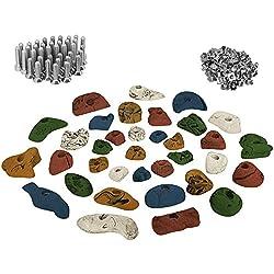 ALPIDEX 35 presas set de iniciación para niños - tornillos y 100 tuercas