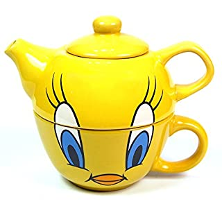 Tweety - Tea For One Mug And Teapot Set