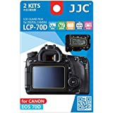 JJC LCP-70D Guard Film Digital Camera LCD Screen Protector For Canon EOS 70D
