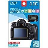 JJC LCP-70D Guard Film Digital Camera LCD Screen Protector For Canon EOS 70D