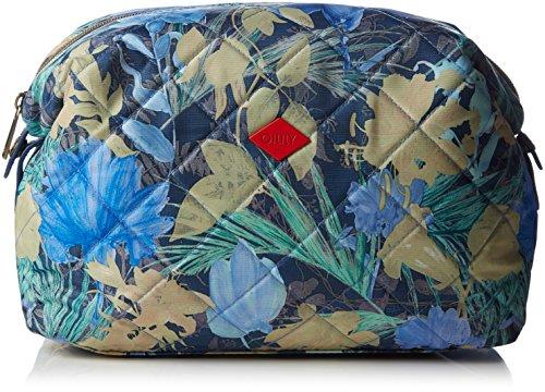 Oilily FF M Toiletry Bag, Nécessaire Femme - Bleu - Blau (Blueberry 546), 25x16x10 cm (B x H x T)