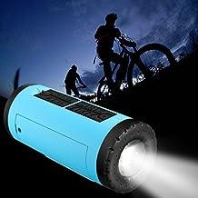 ELEGIANT P-X6 Bluetooth Estéreo Impermeable Al Aire Libre Mini Linterna Car Tarjeta De Carga Tesoro Portátil Inalámbrico Orador en Bicicleta Azul