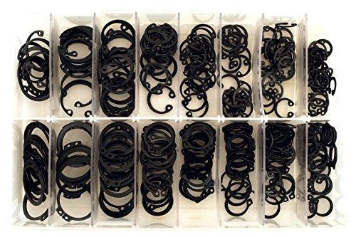 Connect 35004 Set métrique circlips intérieur et extérieur