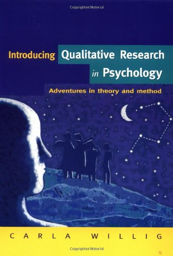 qualitative research methods in psychology Advantages and disadvantages of quantitative and qualitative methods psychology of both types of research methods and accept that qualitative methods.