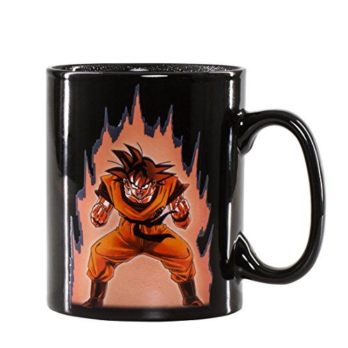 TAZA DRAGON BALL GOKU 460 ML (POR CALOR)