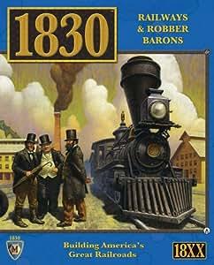 1830 the North East U.S. Board Game