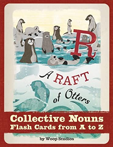 A Raft of Otters: Collective Nouns Flash Cards by Woop Studios (1-Feb-2012) Cards