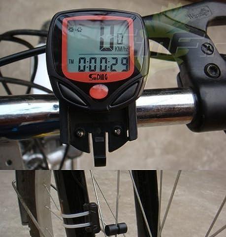nabati LCD Bike Fahrrad computer Kilometerzähler Tachometer