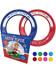 Activ Life Anelli Volanti Migliori per Bambini [Rosso/Blu] Idea Compleanno Natale Calza – Giocattolo Fantastico per Ragazzi e Ragazze e per Divertirsi in Famiglia all'Aperto