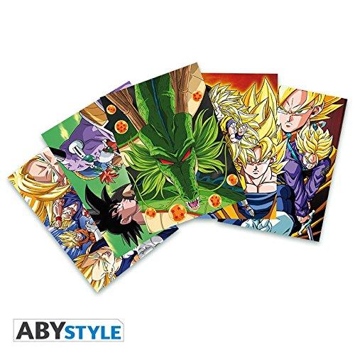 ABYstyle - DRAGON BALL - Tarjetas postales - Set 1