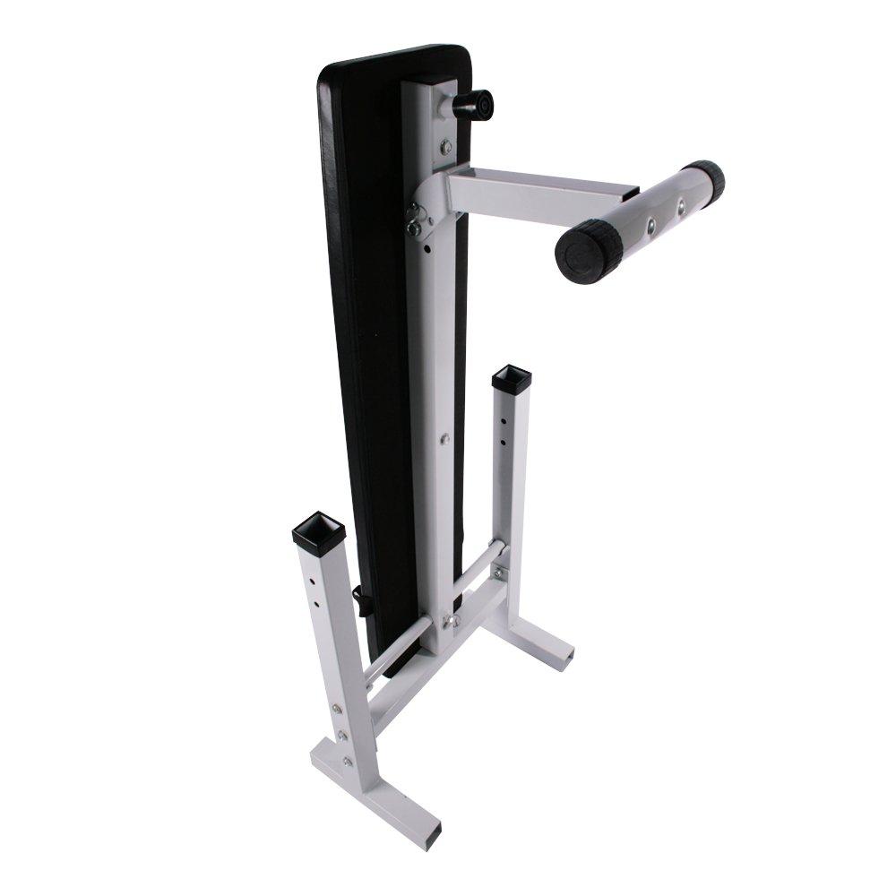 Physionics Banc De Musculation Pliable Avec Support Pour Haltère