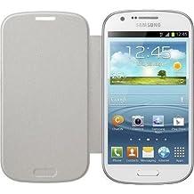 Samsung Original EF-FI873BWEGWW Flip Cover (kompatibel mit Galaxy Express) in weiß