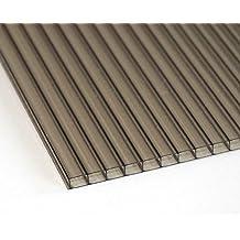 4mm Gewächshaus Glashaus Garten Polycarbonat Stegplatten KLAR 610mm x 1220 mm