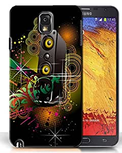 PrintFunny Designer Printed Case For Samsung Galaxy Note3