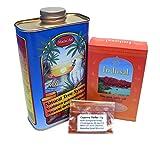 NEERA-Zitronensaftkur Kur-Paket für 5-7 Tage inkl. Cayennepfeffer und Indus-/Himalayaspeisesalz aus der Salt Range Pakistans