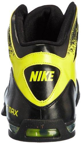 Nike Herren Air Max 90 Leather Sneakers, Schwarz, 40 EU Schwarz / Weiß (Schwarz / Schwarz-Weiß)