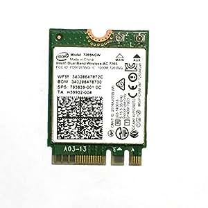 Intel Carte Wireless-AC 7265 2x2 AC + BT M.2