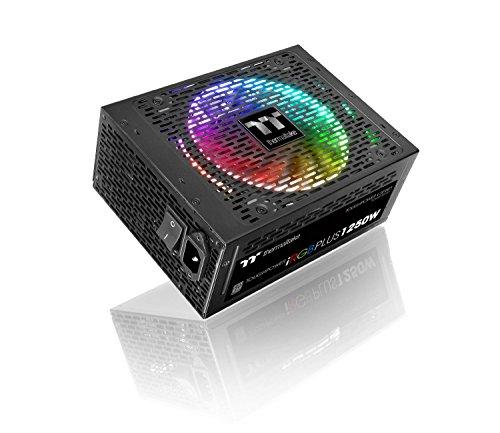 Thermaltake iRGB 1250W 80Plus Titanium Alimentatore, Nero