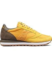 Sneaker Saucony Jazz in suede e nylon giallo oro