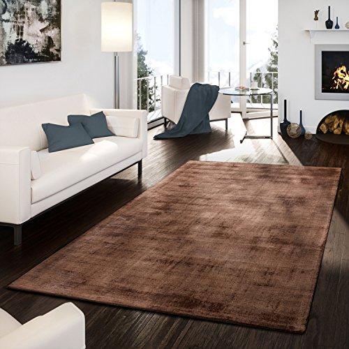 teppich-handgetuftet-modern-qualitat-edel-viskose-garn-schimmer-glanz-braun-grosse10x10-cm