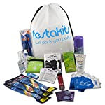 Festakits Essentials - 60 Piece Festival Kit, Camping Survival Kit - All Your Festival Essentials