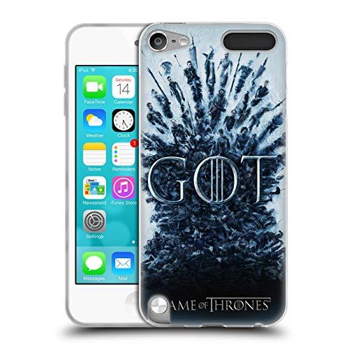 Head Case Designs Offizielle HBO Game of Thrones Aftermath Staffel 8 Schluessel Kunst Soft Gel Huelle kompatibel mit Apple iPod Touch 5G 5th Gen
