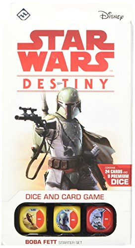 Fantasy Flight Games ffgswd09 Star Wars Boba Fett Destiny Starter Game Set