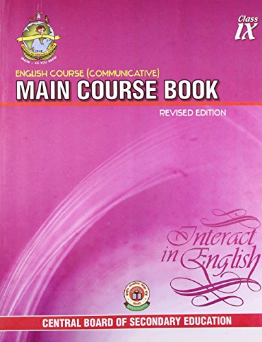 English Course Communicative: Main Course Book Interact in English - Class 9