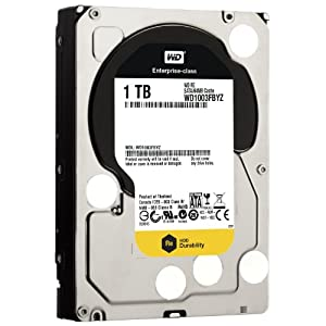 "WD RE4 3.5"" Disque dur interne 1 To 7200 RPM 64 Mo (WD1003FBYZ - bulk)"