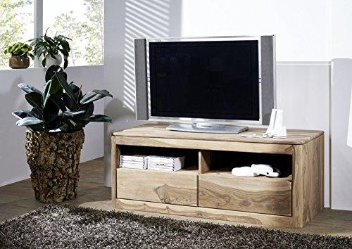 Meuble TV - Bois massif de palissandre huilé - TORONTO #107