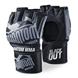 Phantom phmmagblacko-sg Blackout MMA Handschuhe–, grau/schwarz