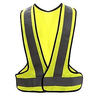 AYKRM high visibility waistcoat reflective safety vest (XL)