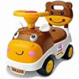 #2: Toyshine My First Ride Hippo Rider Ride-on Toy with Music, 1-2 Years, Assorted Color