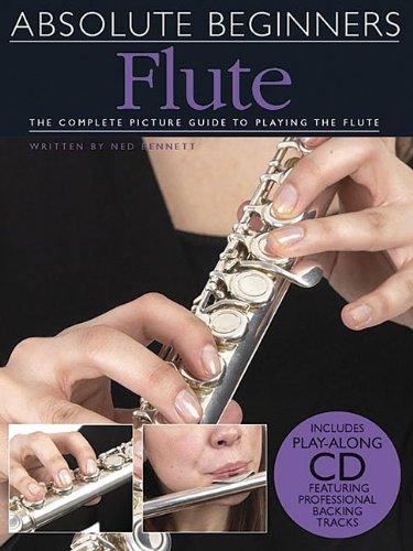 Absolute Beginners: Flute (Book & CD) por Ned Bennett