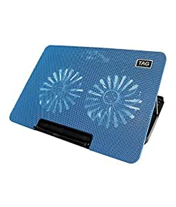 TAG Laptop Cooling Pad - 2000 (Blue)