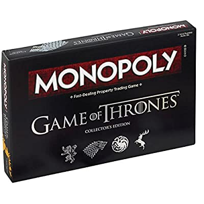 Monopoly Game of Thrones Deluxe Edition Play Set For Children with Accessory Elements Included (Age Group: 5 - 12)