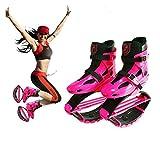 OOFAY Kangoo Jumps Zapatos De Fitness Para Niñas Gravity Boots Niños Bounce Boot Weight Load Range 50-70KG