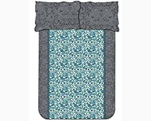 Easy Life Grey Double Bed Sheet - DSN-02
