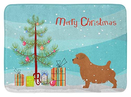 Caroline's Treasures bb2927rug Norfolk Terrier Merry Christmas Baum Fußmatte, 48,3x 68,6cm Multicolor (Terrier Norfolk)