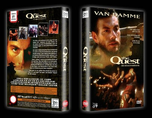 The Quest - Die Herausforderung - Uncut (Limited Hartbox Edition auf 84 Stk. Cover B) - DVD