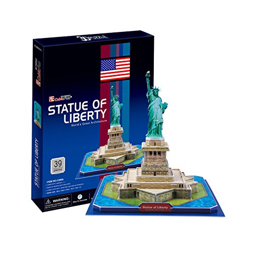 Preisvergleich Produktbild 3D Puzzle Freiheitsstatue/Statue of Liberty Cubic Fun