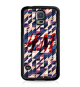 H&M Galaxy S5 Coque Etui Case, Famous Brand Marks Perfect Armor Hard Slim Coque Etui Case Slim Fit Samsung Galaxy S5 i9600
