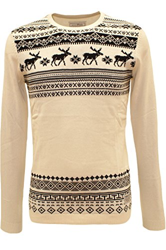 TOM TAILOR Denim Winter Knitwear Pullover - 2 Farben beige (soft beige solid 8452)